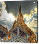 Temple Roof Acrylic Print