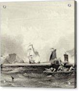 The British Fleet Forces A  Passage Acrylic Print