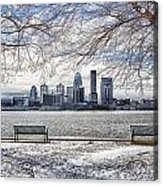 The Cold Acrylic Print