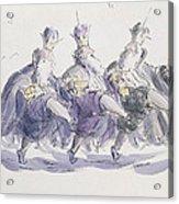 Three Kings Dancing A Jig Acrylic Print