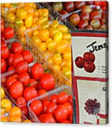 Tomatoes Nj Special Acrylic Print