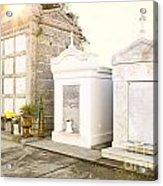Tombstones  Acrylic Print