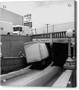 6th Street Underpass Truck Accident Tucson Arizona 1984 Acrylic Print