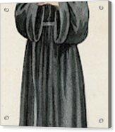 Ursuline Nun Devoted To Saint Ursula Acrylic Print