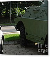 Vehicle Of The Future Acrylic Print