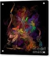 Veils Of Many Colors Acrylic Print by Madeline  Allen - SmudgeArt