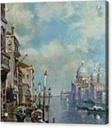 Venice At Noon Acrylic Print