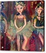 Victorian Christmas Ballet Acrylic Print
