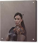 Violinist Acrylic Print