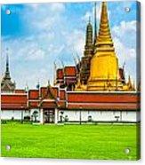 Wat Phra Kaew - Bangkok Acrylic Print