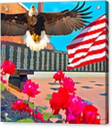 We Are All American's    Americans For All Acrylic Print
