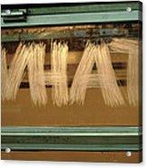 What  Urban Writers ' 2007 Acrylic Print