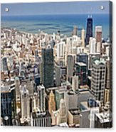 0001 Chicago Skyline Acrylic Print