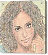 0002 Courtney Acrylic Print