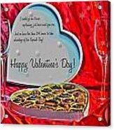 0003 Valentine Series Acrylic Print