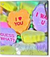 0004 Valentine Series Acrylic Print