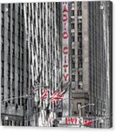 0007 Radio City Music Hall Acrylic Print