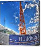 001 Building Buffalo  Acrylic Print