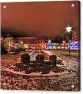 0010 Christmas Light Show At Roswell Series Acrylic Print