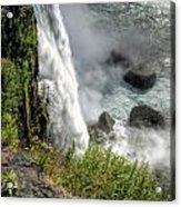 0010 Niagara Falls Misty Blue Series Acrylic Print