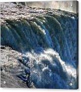 0010 Niagara Falls Winter Wonderland Series Acrylic Print