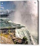 0011 Niagara Falls Misty Blue Series Acrylic Print