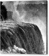 0011a Niagara Falls Winter Wonderland Series Acrylic Print