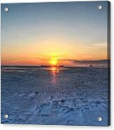 0012 Even On Our Coldest Days We Still Get Blessed With Gorgeous Rays Series Acrylic Print by Michael Frank Jr