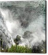 0012 Niagara Falls Misty Blue Series Acrylic Print