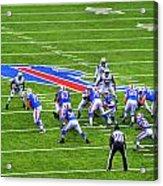 0013 Buffalo Bills Vs Jets 30dec12 Acrylic Print