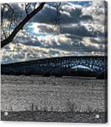 0013 Grand Island Bridge Series Acrylic Print