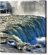 0013 Niagara Falls Winter Wonderland Series Acrylic Print