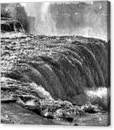 0013a Niagara Falls Winter Wonderland Series Acrylic Print