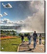 0014 Niagara Falls Misty Blue Series Acrylic Print