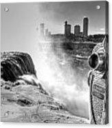0014a Niagara Falls Winter Wonderland Series Acrylic Print