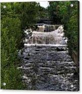 0015 Glen Falls Of Williamsville New York Series  Acrylic Print