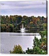 0015 Hoyt Lake Autumn 2013 Acrylic Print