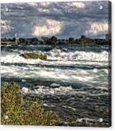 0015 Niagara Falls Misty Blue Series Acrylic Print