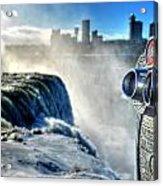0016 Niagara Falls Winter Wonderland Series Acrylic Print