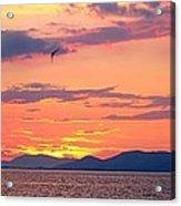 0016233 - Patras Sunset Acrylic Print