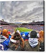 0017 Buffalo Bills Vs Jets 30dec12 Acrylic Print