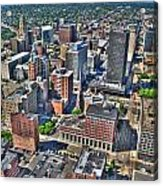 0017 Visual Highs Of The Queen City Acrylic Print