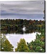 0018 Hoyt Lake Autumn 2013 Acrylic Print