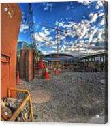 002 Building Buffalo Acrylic Print