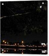 002 Japanese Garden Autumn Nights Acrylic Print