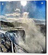 002 Niagara Falls Winter Wonderland Series Acrylic Print