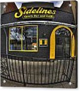 002 Sidelines Sports Bar And Grill Acrylic Print