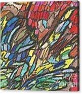 0020 Palette Acrylic Print