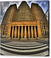 0021 Approaching Our City Hall Acrylic Print