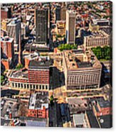 0023a Visual Highs Of The Queen City Acrylic Print